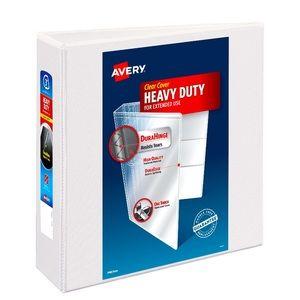 "Avery Durahinge 4"" Heavy Duty Clear View Binder"